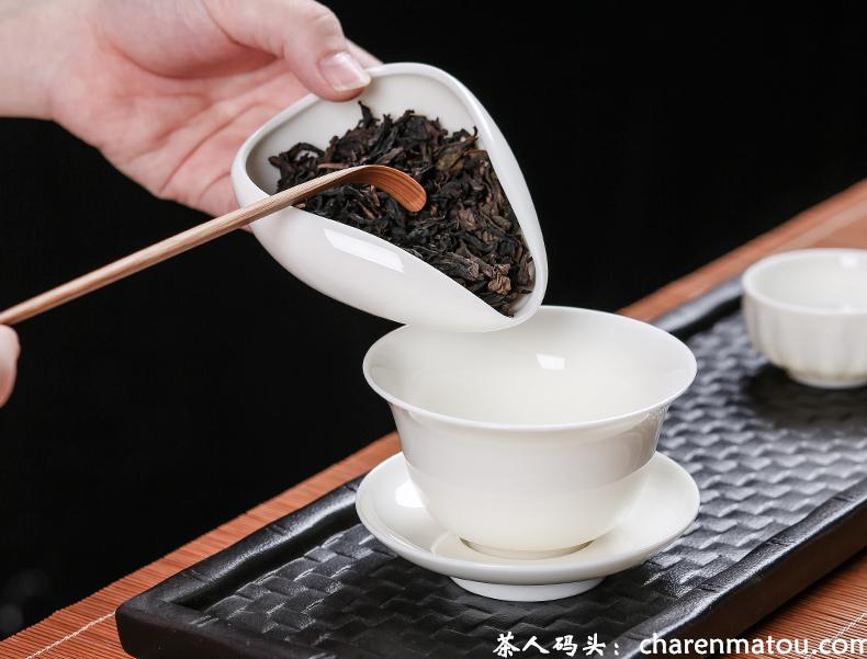 盖碗适合泡什么茶